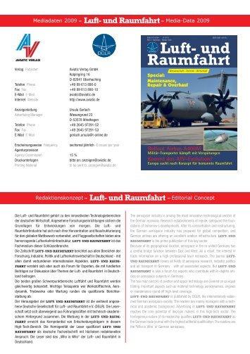 Luft- und Raumfahrt - AVIATIC Verlag
