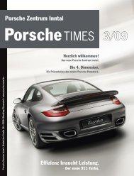Das neue Porsche Zentrum Inntal.