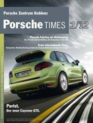 Purist. - Porsche Zentrum Koblenz