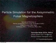 Particle Simulation for the Axisymmetric Pulsar Magnetosphere - CfCA