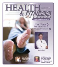 How Happy Are Your Feet? - Health & Fitness Magazine online!
