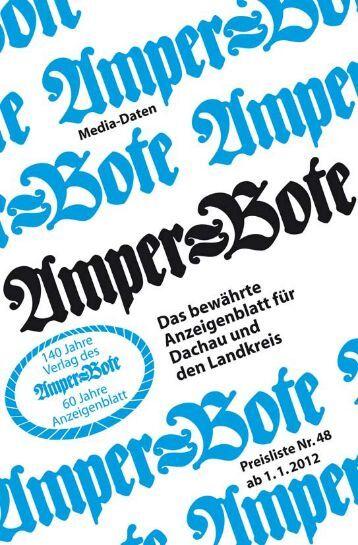 Amper-Bote Mediadaten 2012