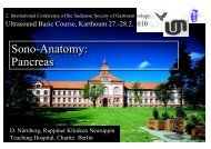 Sono-Anatomy - Berlin-Brandenburgische-Ultraschall-Tagung
