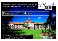 Pancreas Pathology 260210 - Berlin-Brandenburgische-Ultraschall ...