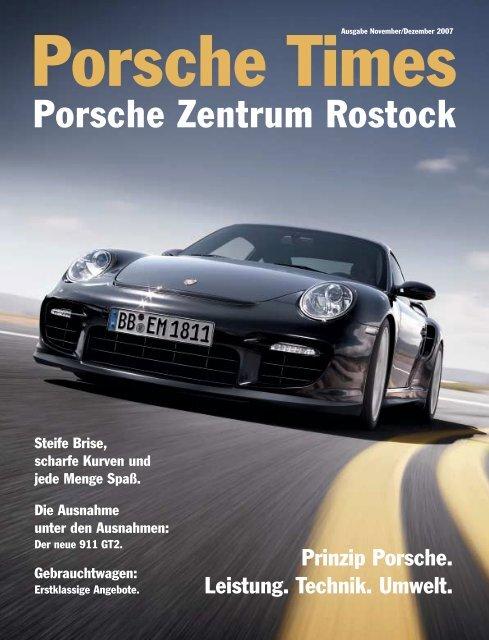 Ausgabe Nov/Dez 2007 - Porsche Zentrum Rostock