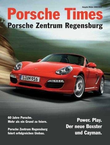 Ausgabe Jan/Feb 2009 [1512 kB] - Porsche Zentrum Regensburg