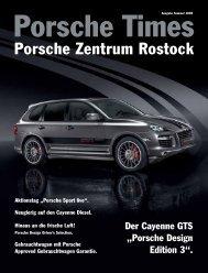 Ausgabe Sommer 2009 - Porsche Zentrum Rostock