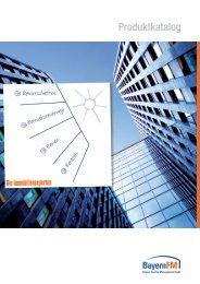 Produktkatalog der Bayern Facility Management GmbH