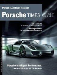 Ausgabe 2/10 - Porsche Zentrum Rostock