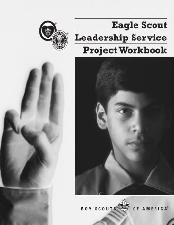 Eagle Scout Leadership Service Project Workbook - Bsatroop165.org