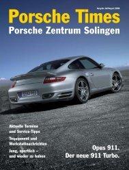 Ausgabe Juli/August 2006 - Porsche