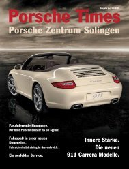 Ausgabe Juni/Juli 2008 - Porsche