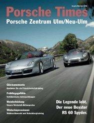 Zuhause! - Porsche Zentrum Olympiapark