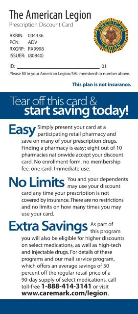 caremark discount card program