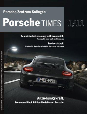 Herzlich willkommen im Porsche Zentrum  Solingen.