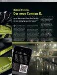 Radikal Porsche. Der neue Cayman R. Erwärmte nicht nur ... - Seite 6