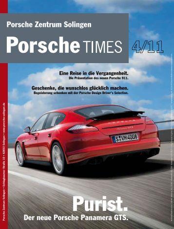 Ausgabe 4/11 - Porsche Zentrum Solingen