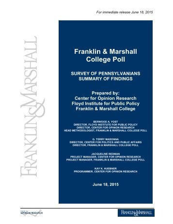 603015021960915052-june-2015-franklin-marshall-poll-release-final