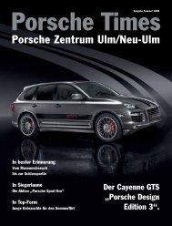 Ausgabe Sommer 2009 - Porsche Zentrum Olympiapark