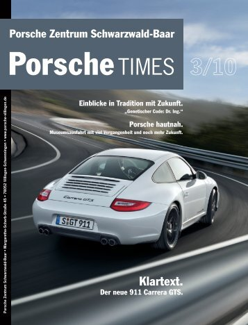 Der neue 911 Carrera GTS. - Porsche