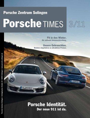 Ausgabe 3/11 - Porsche Zentrum Solingen