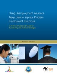 Using Unemployment Insurance Wage Data to Improve Program ...