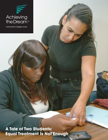 A Tale of Two Students - Achieving the Dream