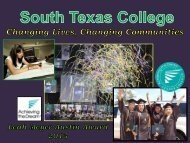 South Texas College - Achieving the Dream