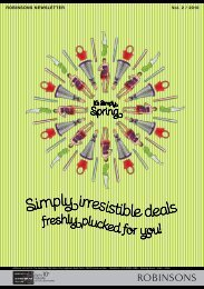 Simply irresistible deals - Robinsons