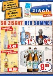 Zisch Greifswald/Stralsund Angebote KW27/2015