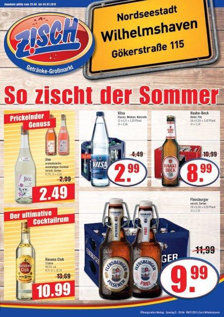 Zisch Wilhelmshaven Angebote KW27/2015