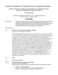 La gestion du risque lié au changement climatique - Atlantic Climate ...