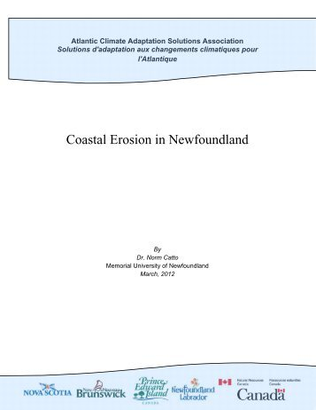 Coastal Erosion in Newfoundland.pdf - Atlantic Climate Adaptation ...