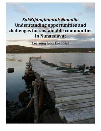 SakKijānginnatuk Nunalik - Atlantic Climate Adaptation Solutions