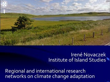 A PEI Case study - Atlantic Climate Adaptation Solutions