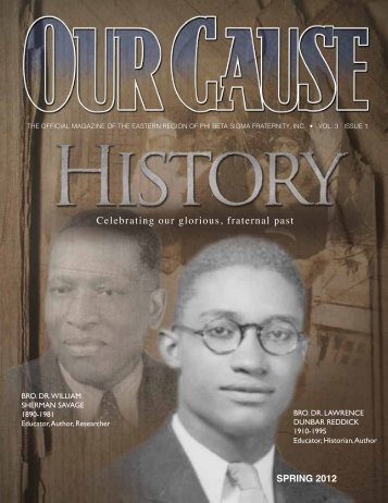 OUR CAUSE Magazine 2012