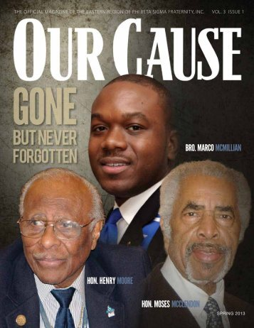 OUR CAUSE Magazine 2013
