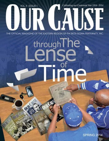 OUR CAUSE Magazine 2014