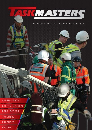CONSULTANCY SAFETY SYSTEMS ROPE ACCESS TRAINING PRODUCTS RESCUE