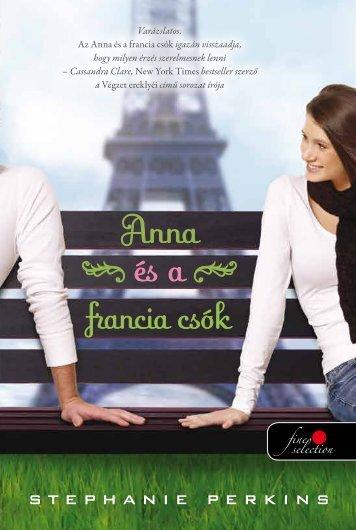 Anna és a francia csók - Könyvmolyképző