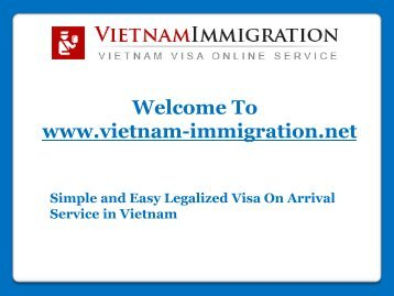 Visa On Arrival Service in Vietnam
