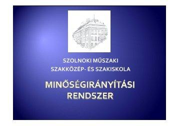 Prezentáció Minőségirányítási rendszer - szolmusz.hu