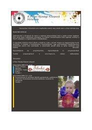 Pécsi Ifjúsági Központ hírlevele 2009.11.19.