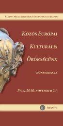 Közös Európai Kulturális Örökségünk