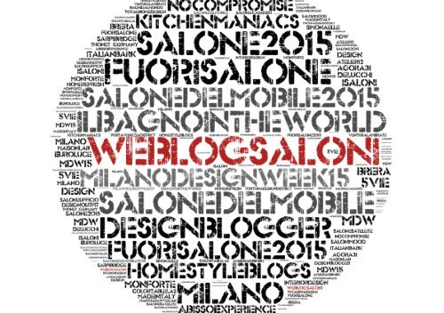 #weblogsaloni story: Milano design week 2015
