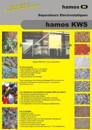 Hamos - Brochure Separateurs électrostatiques - Ressor.fr