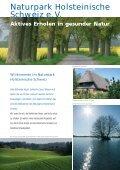 Naturpark Holsteinische Schweiz e.v. - Seite 3