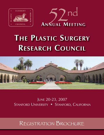 plastic surgery research Updated directory of plastic surgery conferences, 2018/2019.
