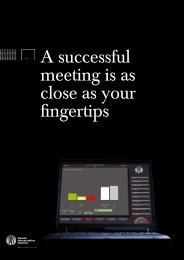 A successful meeting is as close as your fingertips - AVC