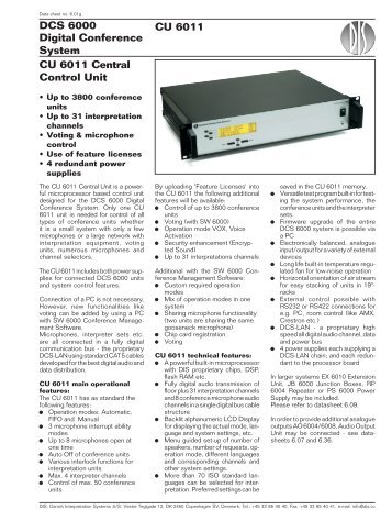 Central Control Unit - AVC Group